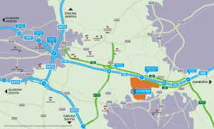 M8 JOURNEYS CUT BY 20 MINUTES! NEW £500 MILLION MOTORWAY OFFICIALLY OPENED