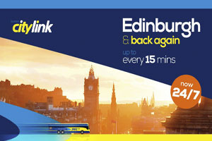 SCOTTISH CITYLINK TO IMPROVE BUS SERVICES TO EUROCENTRAL
